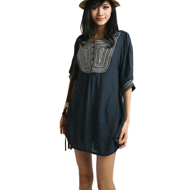 3638f8687d044 Embroidery Tops Maternity Blouse Blusas Para Gestantes Roupas Para Gravidas  Shirts Pregnant Blouses For Pregnancy Women Clothes