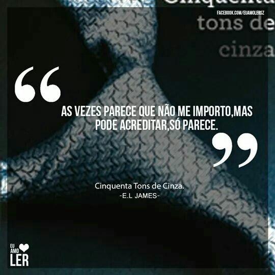 Cinquenta Tons De Cinza E L James Mensagens Posts Fifty