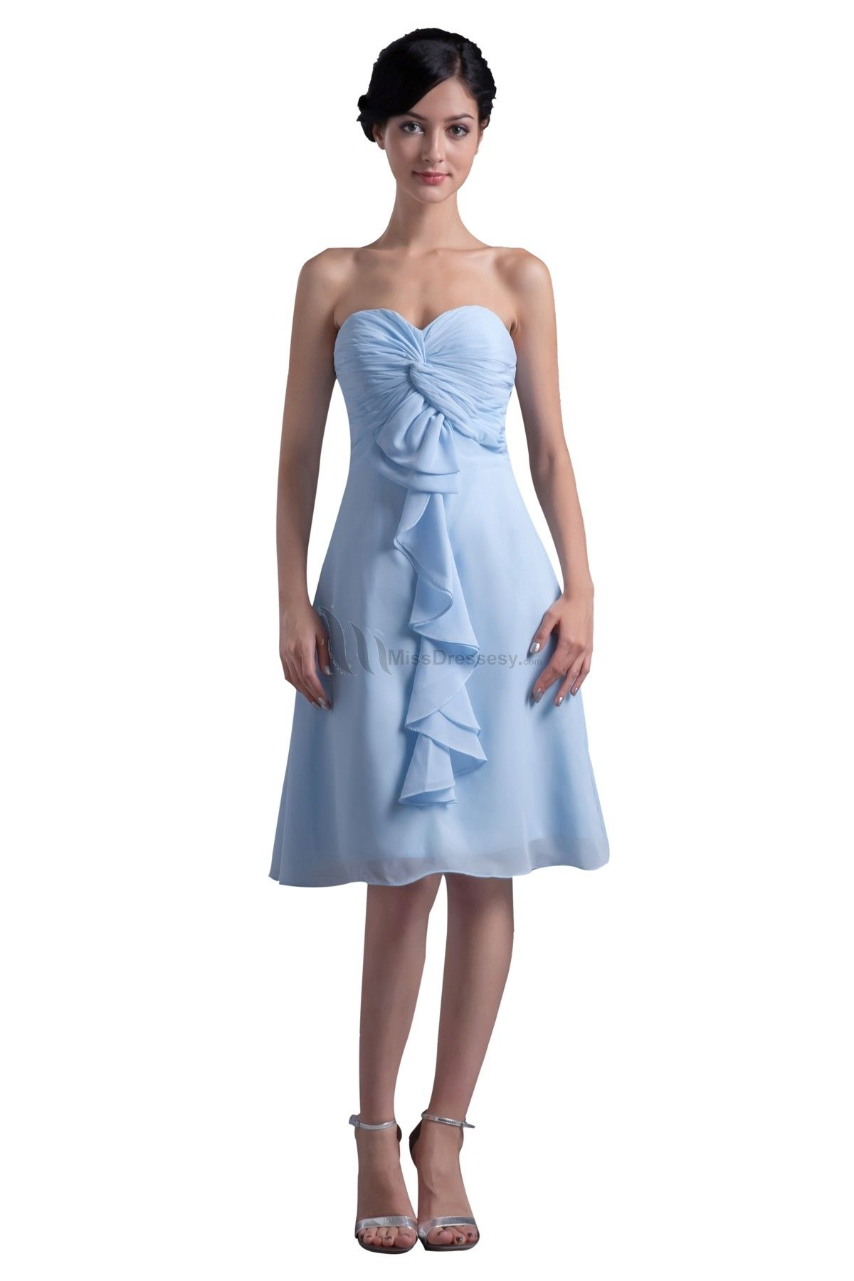Buy cheap chiffon bridesmaid dressunder 100 beautiful simple buy cheap chiffon bridesmaid dressunder 100 beautiful simple sweetheart short blue bridesmaid dresses plus size ombrellifo Image collections