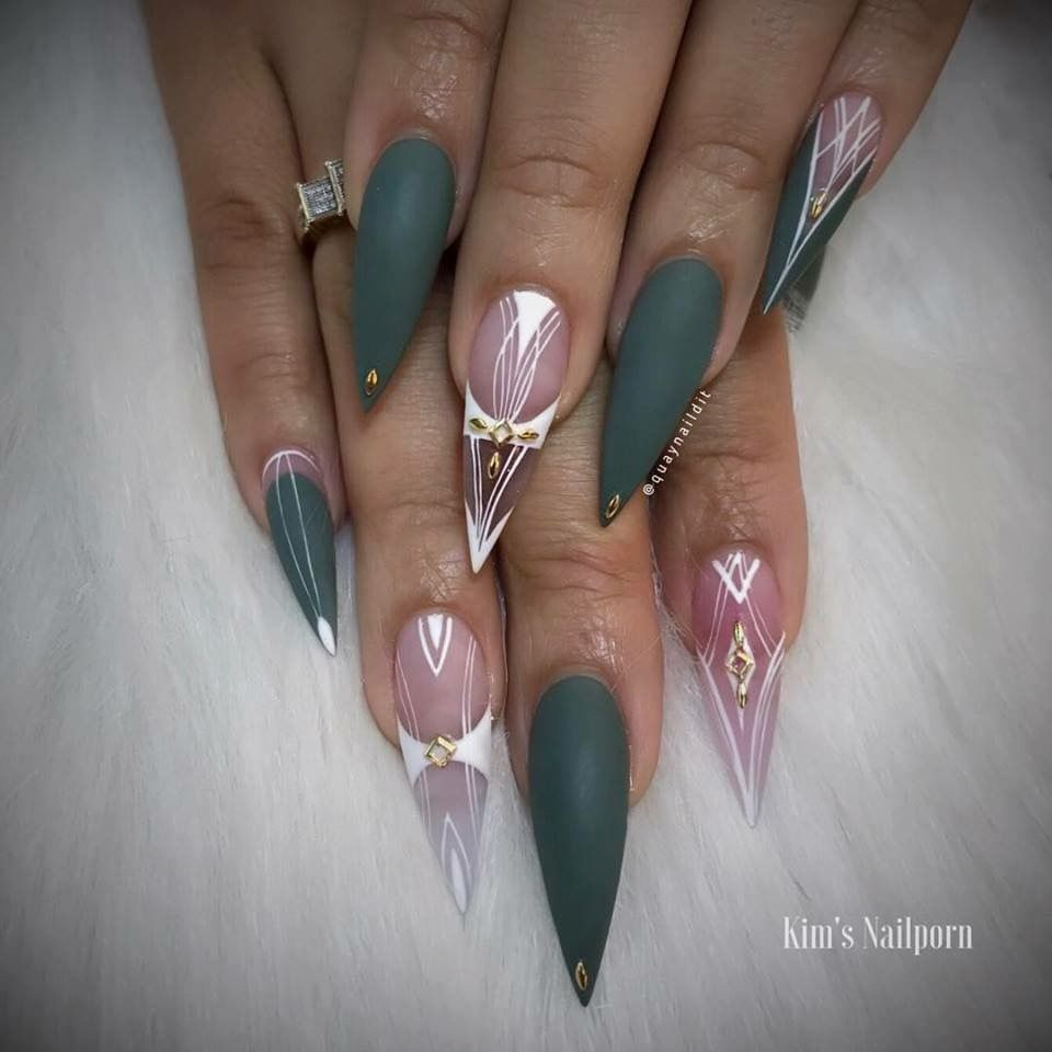 Pin by Alexia Nelson on Nails | Pinterest | Coffin nails, Nail nail ...