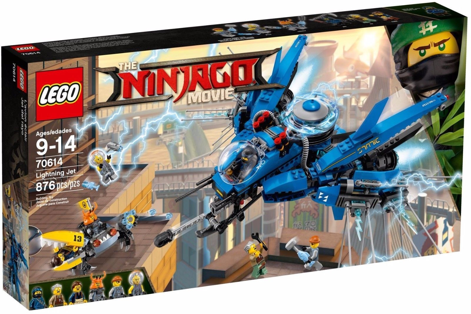 Lego Ninjago Movie Lightning Jet 70614 New Sealed Buying Toys 70596 Samurai X Cave Chaos