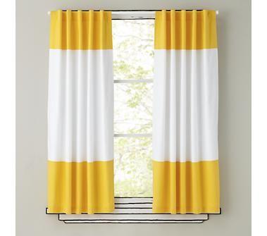 Kids curtains.