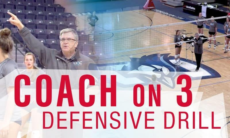 Visual attack drill with Jen DeJarld Coaching volleyball