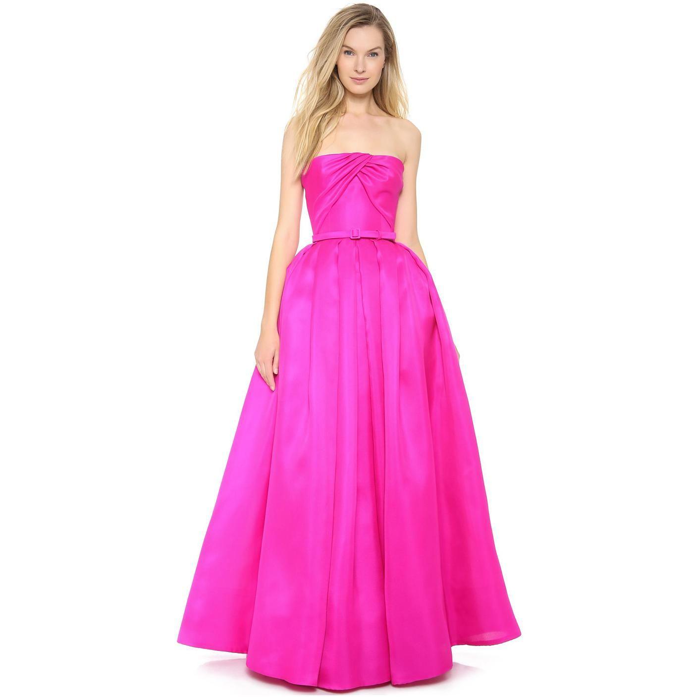 Reem Acra Women\'s Silk Gazar Ball Gown | REEM ACRA - DISEÑADORA ...