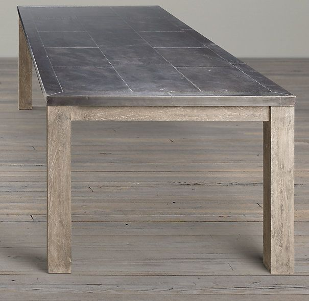 Railroad Tie Rectangular Dining Table  Simple Baserestoration Inspiration Rectangle Dining Room Tables Design Decoration
