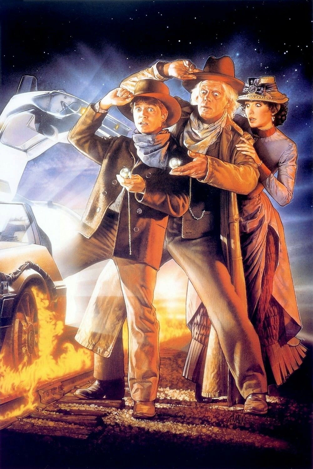 Back To The Future Part 3 Textless Movie Posters Backtothefuture