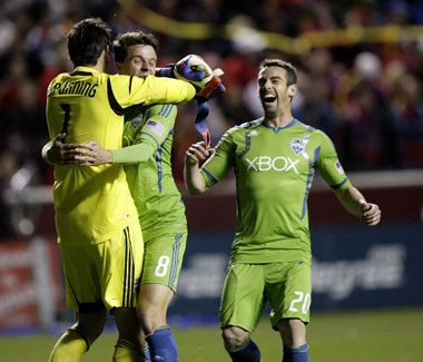The Sounders advance to the MLS Western Conference final for the first time in franchise history!