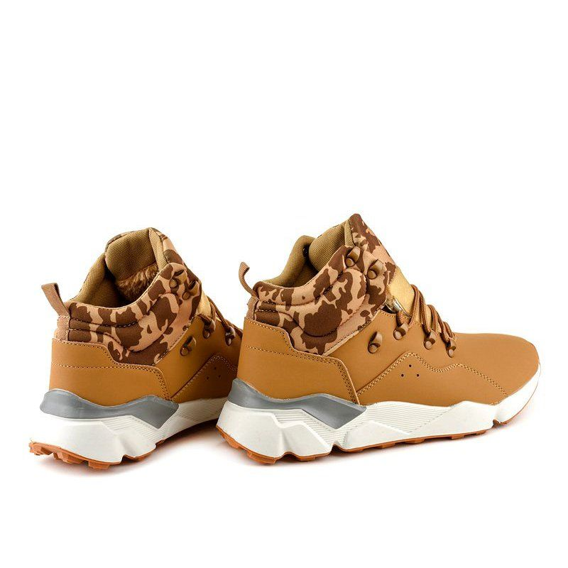 Brown Insulated F33 3 Sports Shoes Shoes Sports Shoes Sports Footwear