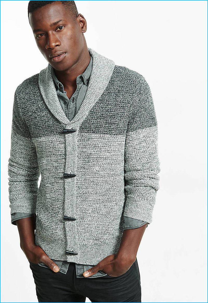 Shawl Collar Sweaters: Men's 2016 Style