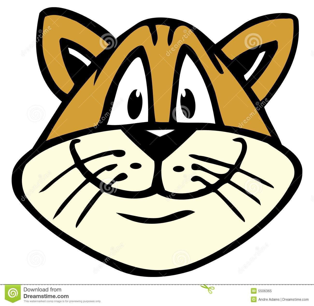 Cat Face Illustration | Cat face