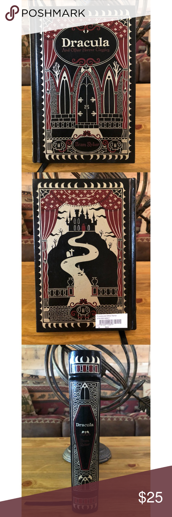 Dracula And Other Horror Classics By Bram Stoker This Book Is Hardback Great Pre Owned Condition This Book Consists Of Dracula Th Horror Dracula White Worms