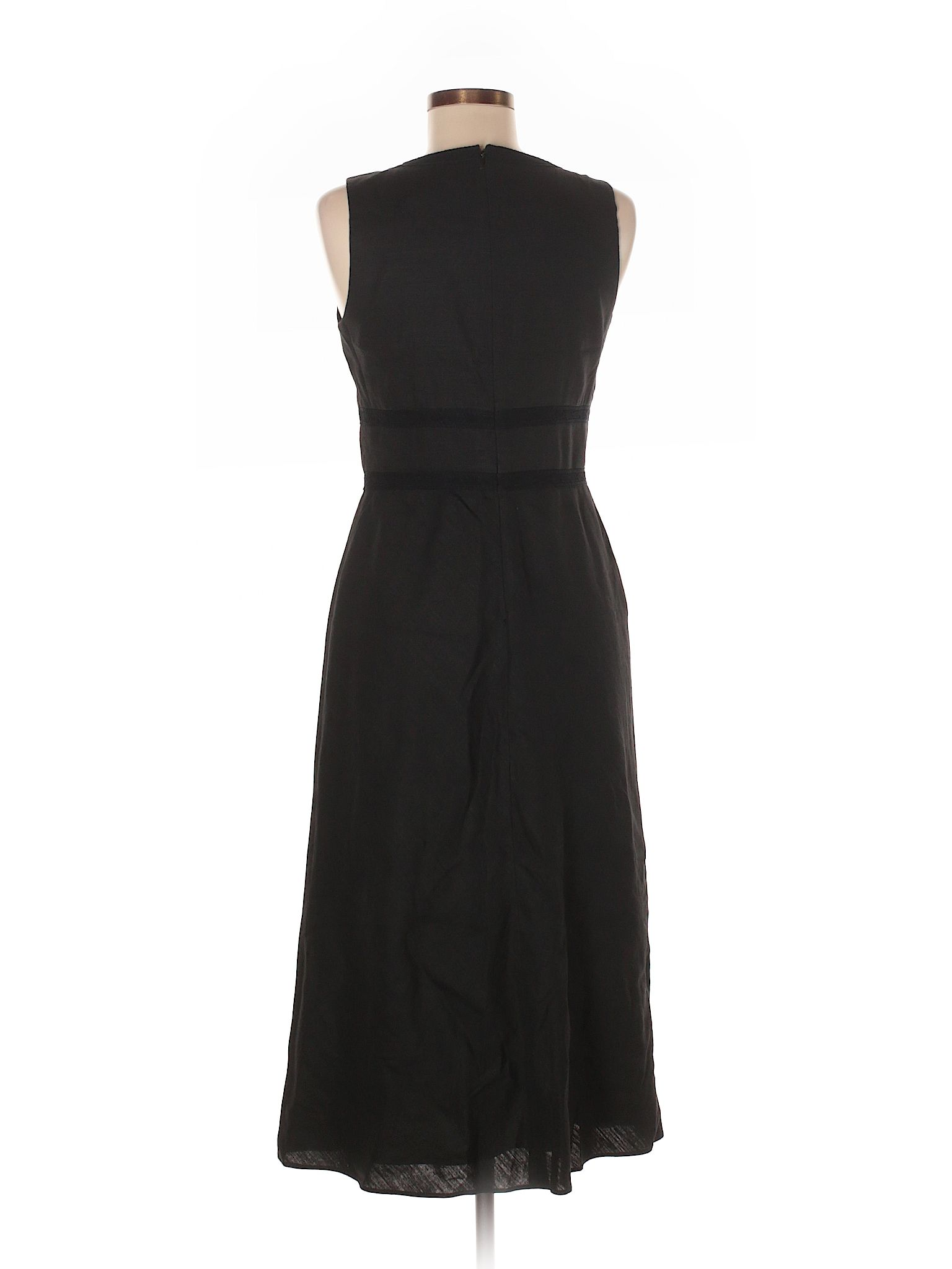 Banana Republic Casual Dress Black Womens Dresses  26884420
