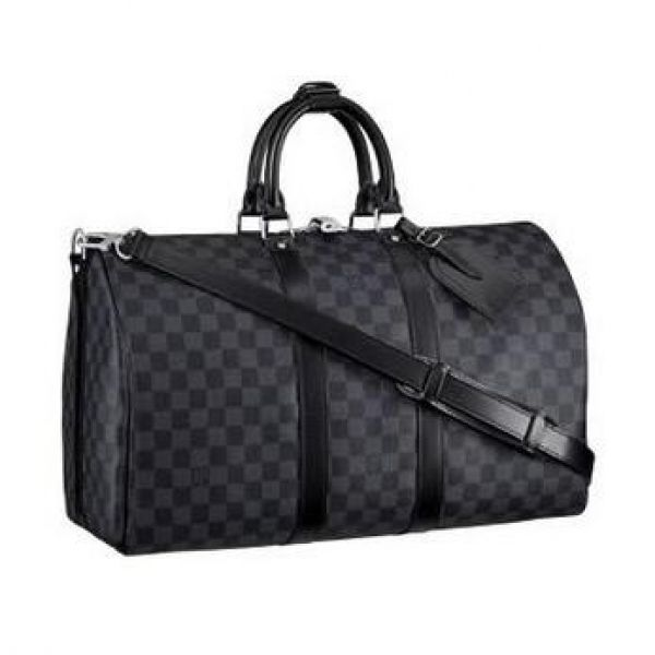 4f566713e6c49 Men Louis Vuitton Luggage Keepall With Strap Men N41418