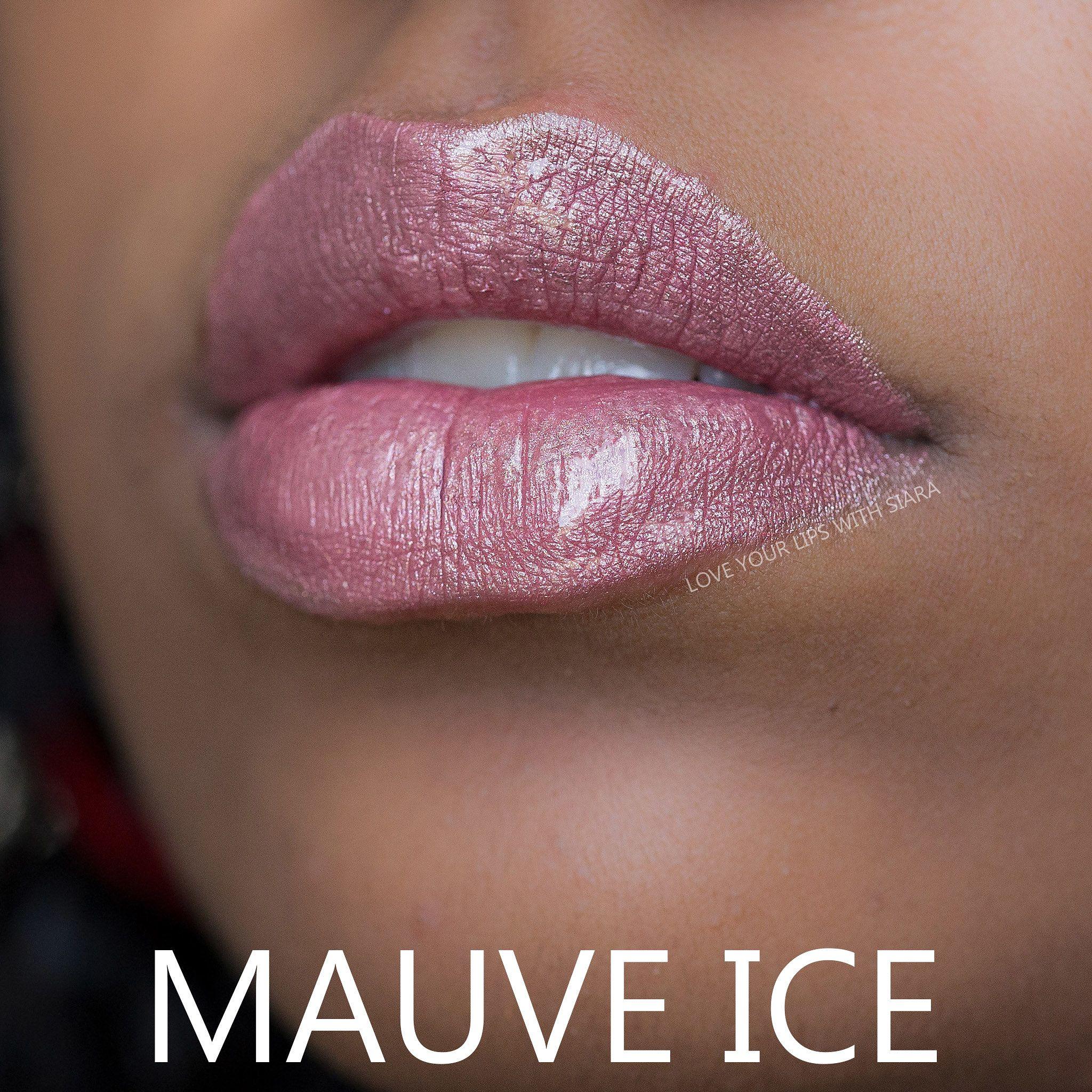 Mauve Ice W Glossy Gloss Long Lasting Lip Color Glossier Gloss