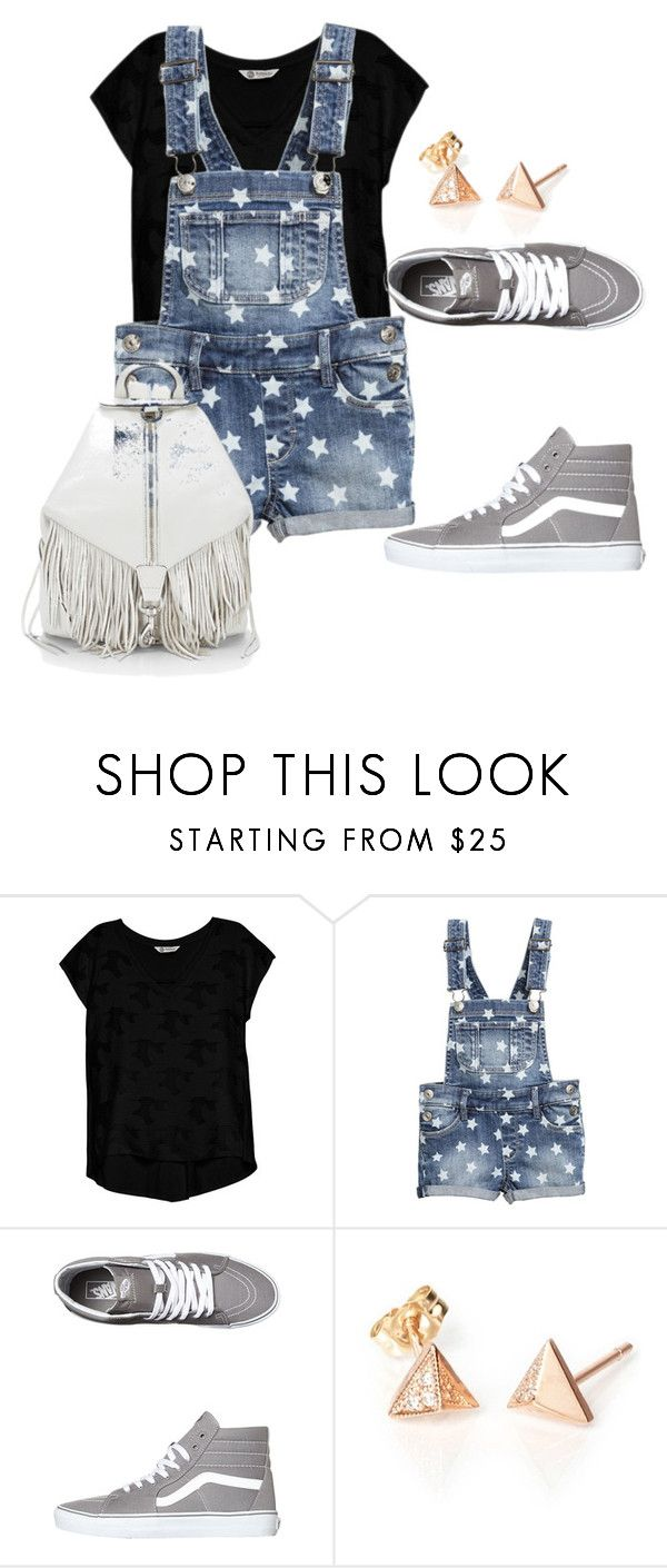 """something..."" by denisasays ❤ liked on Polyvore featuring Bobeau, Vans and Rebecca Minkoff"