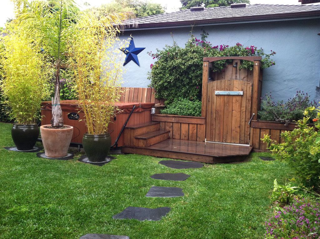 Craftsman Residential Remodel – Landscaping, Hot Tub installation ...