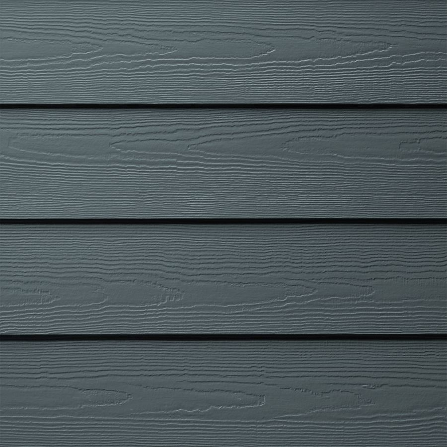 Hardieplank Primed Evening Blue Cedarmill Lap Fiber Cement Siding