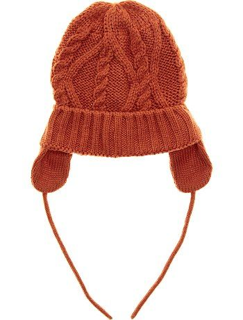 Bonnet cache-oreilles marron Bébé garçon - Kiabi   Little Fox 05544f0ed74