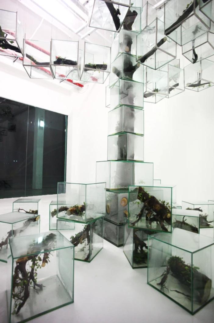 A New Flow of Time by Takashi Kuribayashi | Takashi, Japanese artists, Installation art