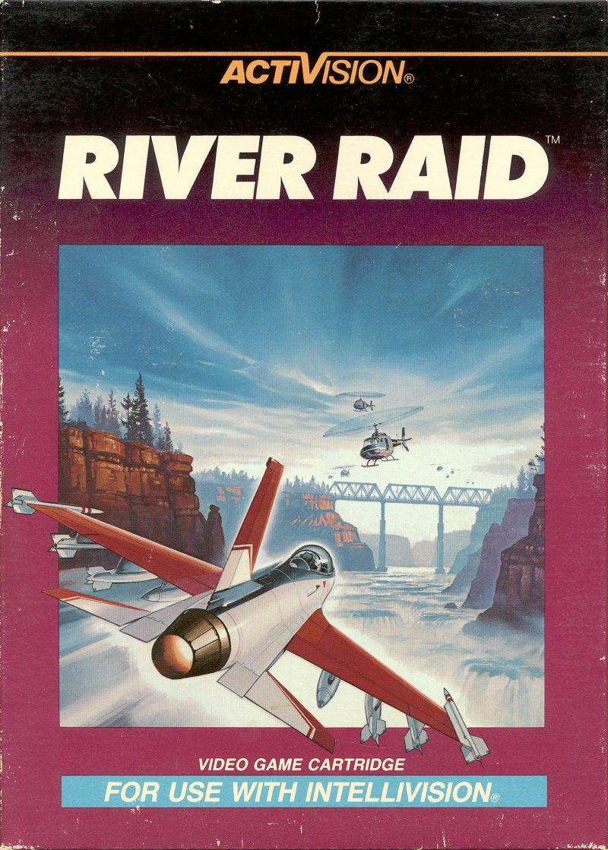 River Raid Vintage Video Games Retro Gaming Art Retro Gaming