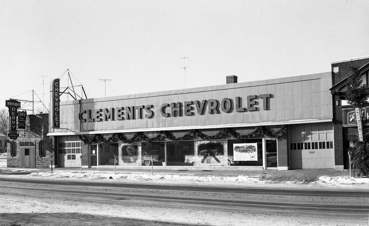 1954 Clements Chevrolet Dealership, Rochester, Minnesota