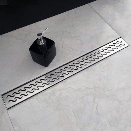 Fabulous Neodrain 32 Inch Rectangular Linear Shower Drain With Slight Download Free Architecture Designs Fluibritishbridgeorg