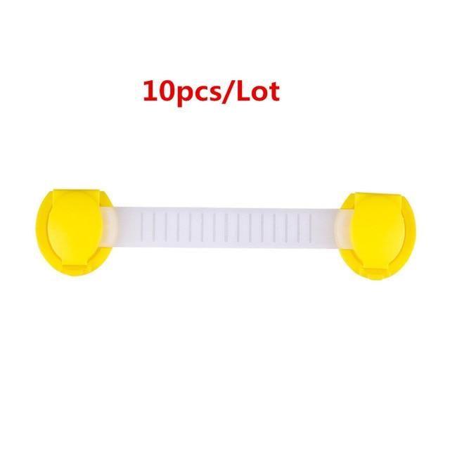 Multifunction Baby Cabinet Safety Lock – 22(10PCS)