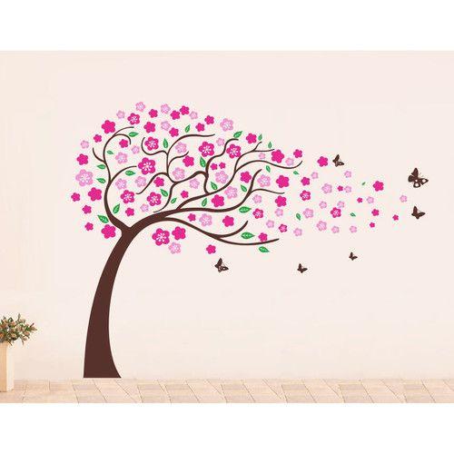 Flower Tree Wall Decal | Flower tree, Wall decals and Flower