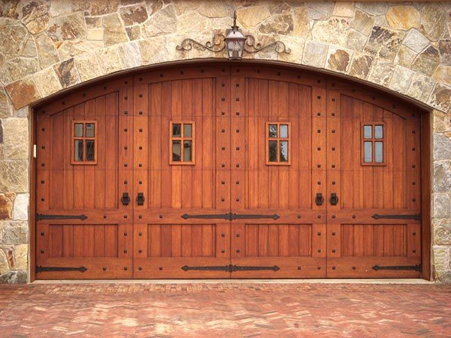Round doors entry double door 96 wood alder rustic plank for Rustic wood garage doors