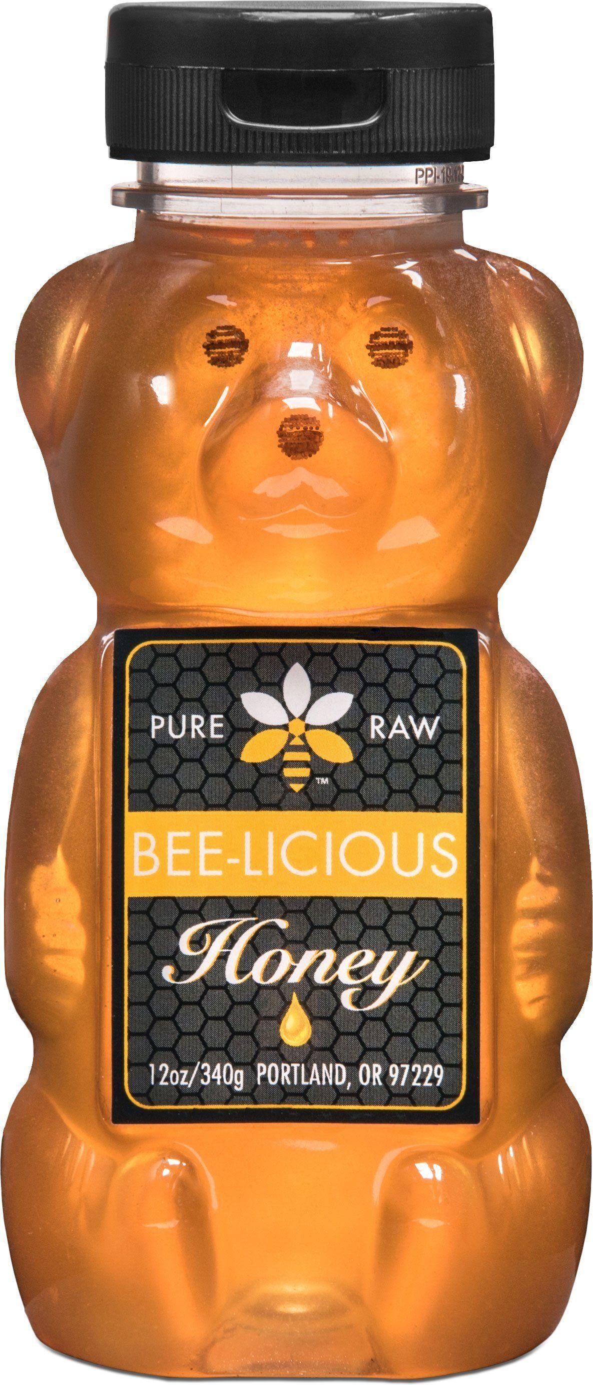 Papa Bear Clover Honey Honey, Honey bear, Aroma