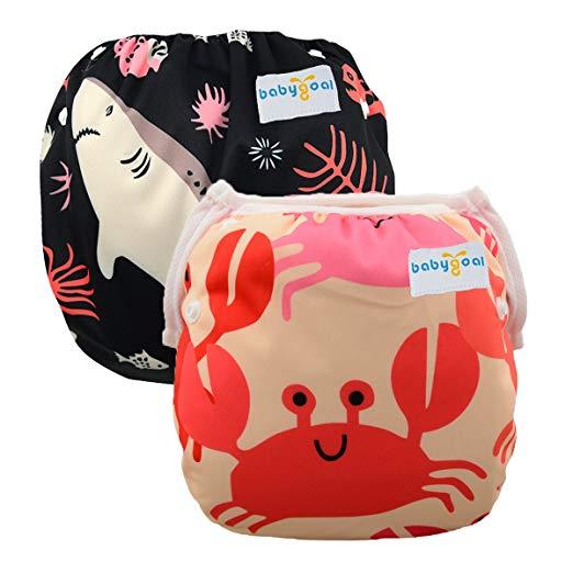 Swim Nappy Diaper Leakproof Reusable Adjustable Baby Infant.Boy Girl Toddl Deko