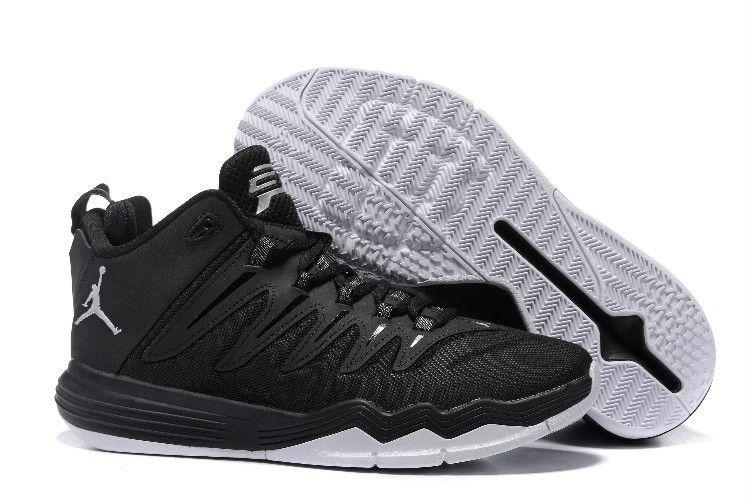 wholesale dealer d06d2 045db Nike Jordan Men s Jordan CP3 IX Basketball Shoes Black White,Jordan-CP3  Shoes Sale Online