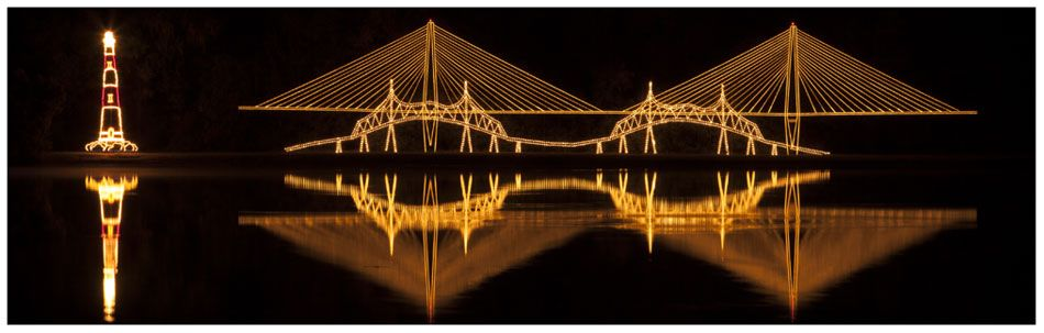 James Island Lights Stunning Charleston Sc  Beginning November 15 And Continuing Through Design Ideas