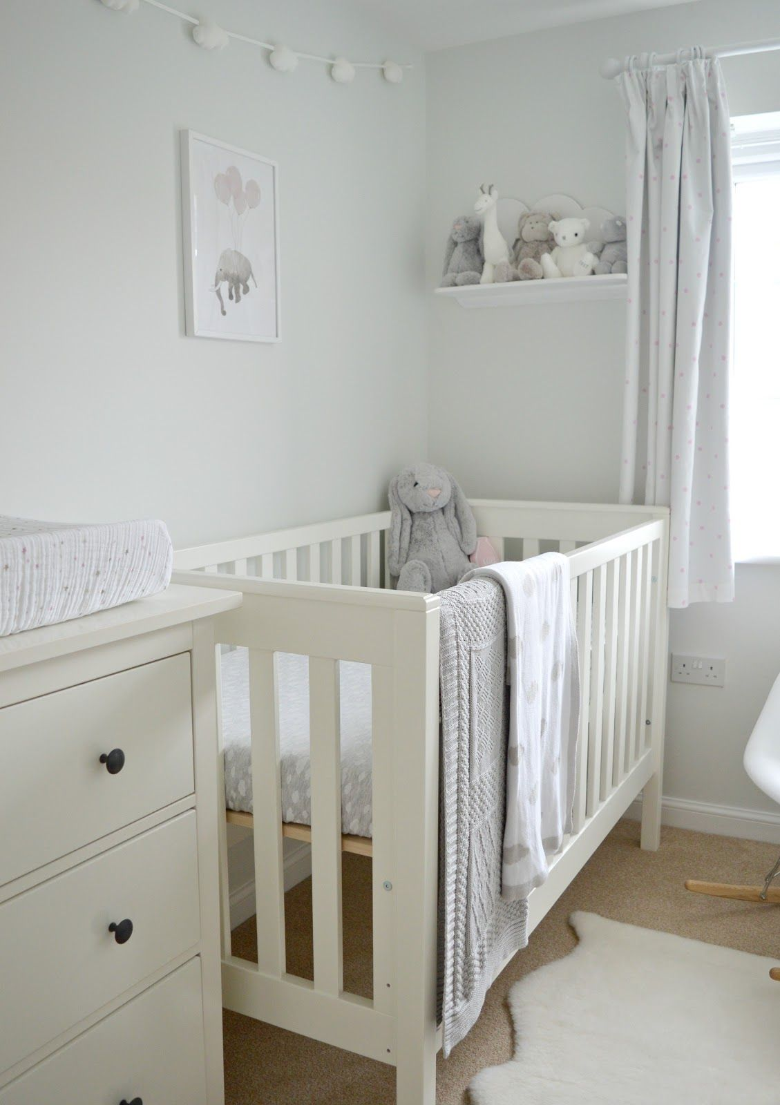 Baby Girl Nursery Tour Baby Nursery Neutral Baby Bedroom Grey
