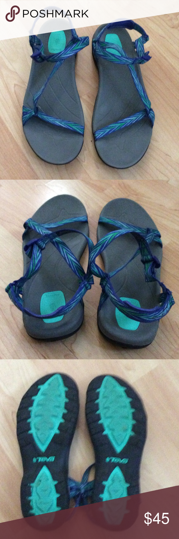 6b2493a02d904 Chacos like sandals Teva sandals like chacos very cute and super comfy!  Size 9 Chacos