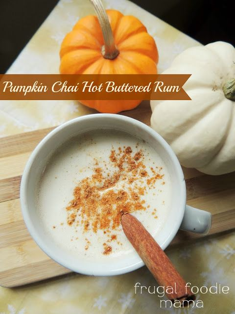 Pumpkin Chai Hot Buttered Rum from cocktail contributor ...