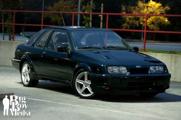 Cosworth Twin Cam Swapped Merkur Xr4ti Ford Sierra Cool Cars