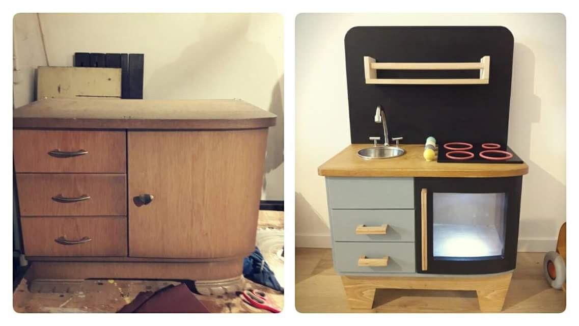Kuchnia Dla Dzieci Diy Children S Kitchen Diy Furniture Diy Kitchen Home Decor