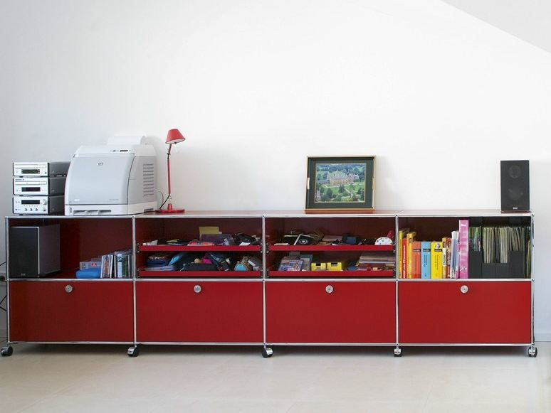 Sectional Metal Storage Unit For Kids Bedroom Usm Haller Storage For Kid S Room Storage