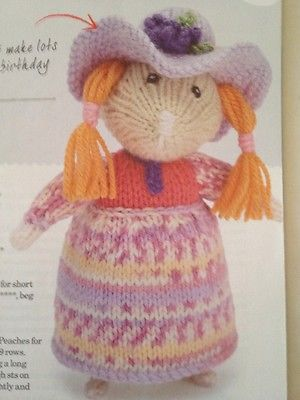 Hippie Hamsters Knitting Pattern Only By Alan Dart Alan Dart