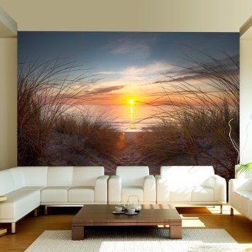 Vlies Fototapete 350x270 cm - Top ! Tapete ! Wandbilder XXL - fototapete für schlafzimmer