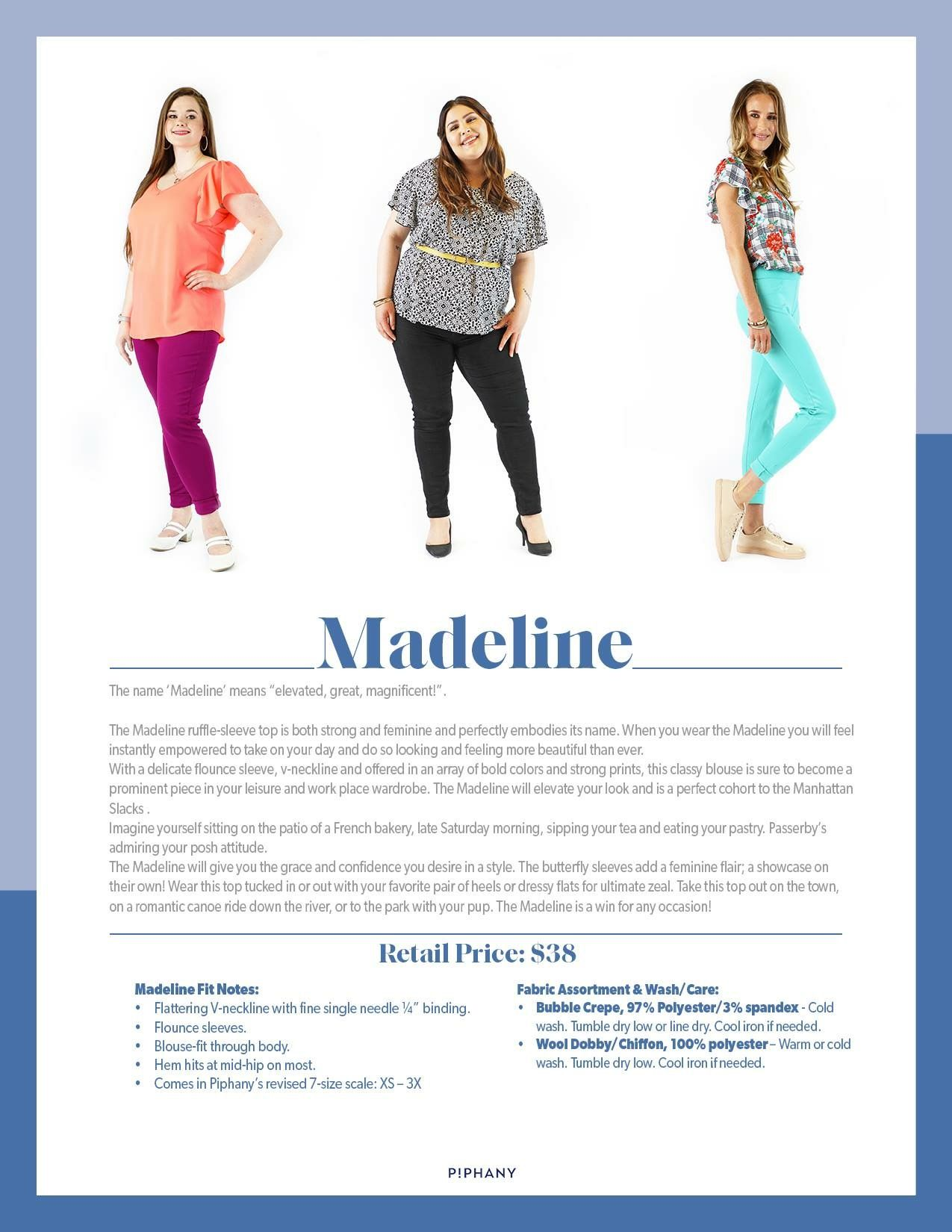 b25067ed4c6d6 Piphany Madeline | Piphany Styles | Tops, Boutique, Wonderful things