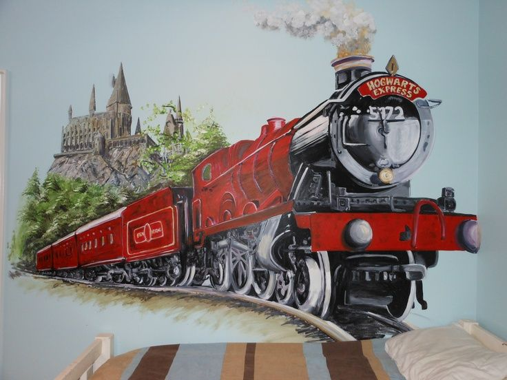 hogwarts express art - Google Search   Poudlard, Dessin et ...