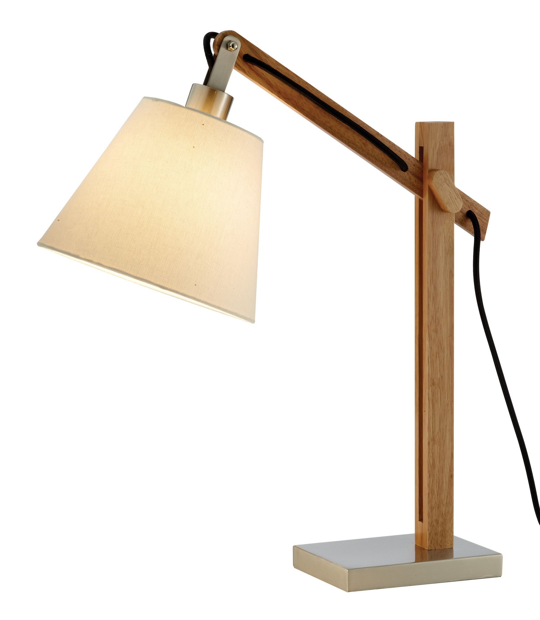 """Adesso Walden 25"""" H Table Lamp with Empire Shade 