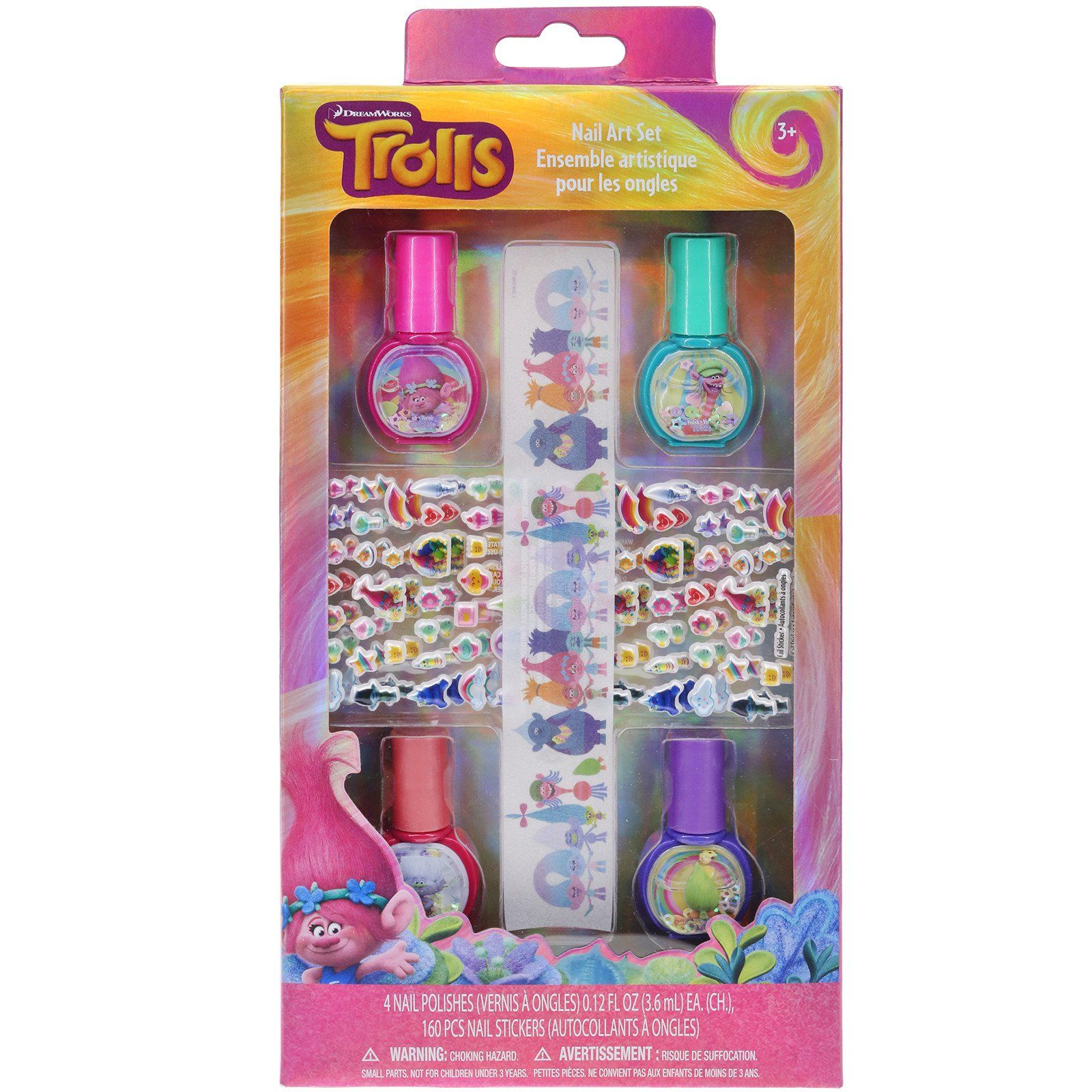 Trolls Nail Art Set | TownleyGirl | Kid-friendly Beauty products for ...