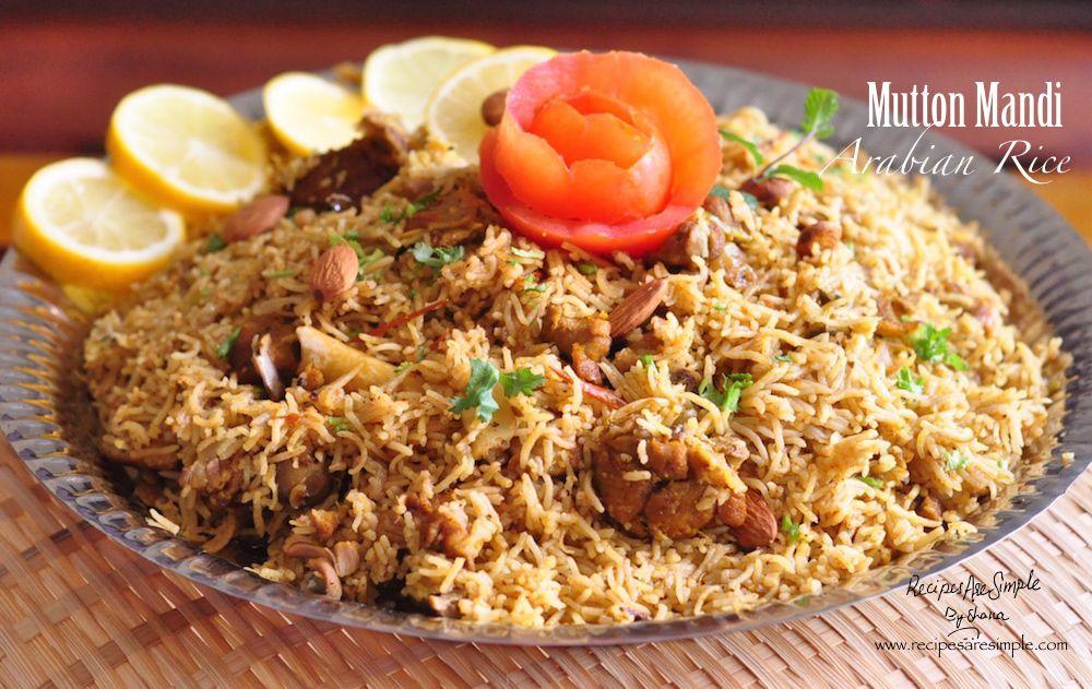 Mutton Mandi Arabian Rice
