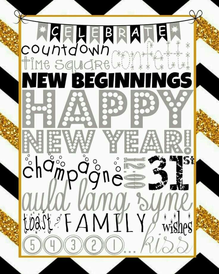 Pin by Debbie Votaw on Happy New Year Newyear, New years
