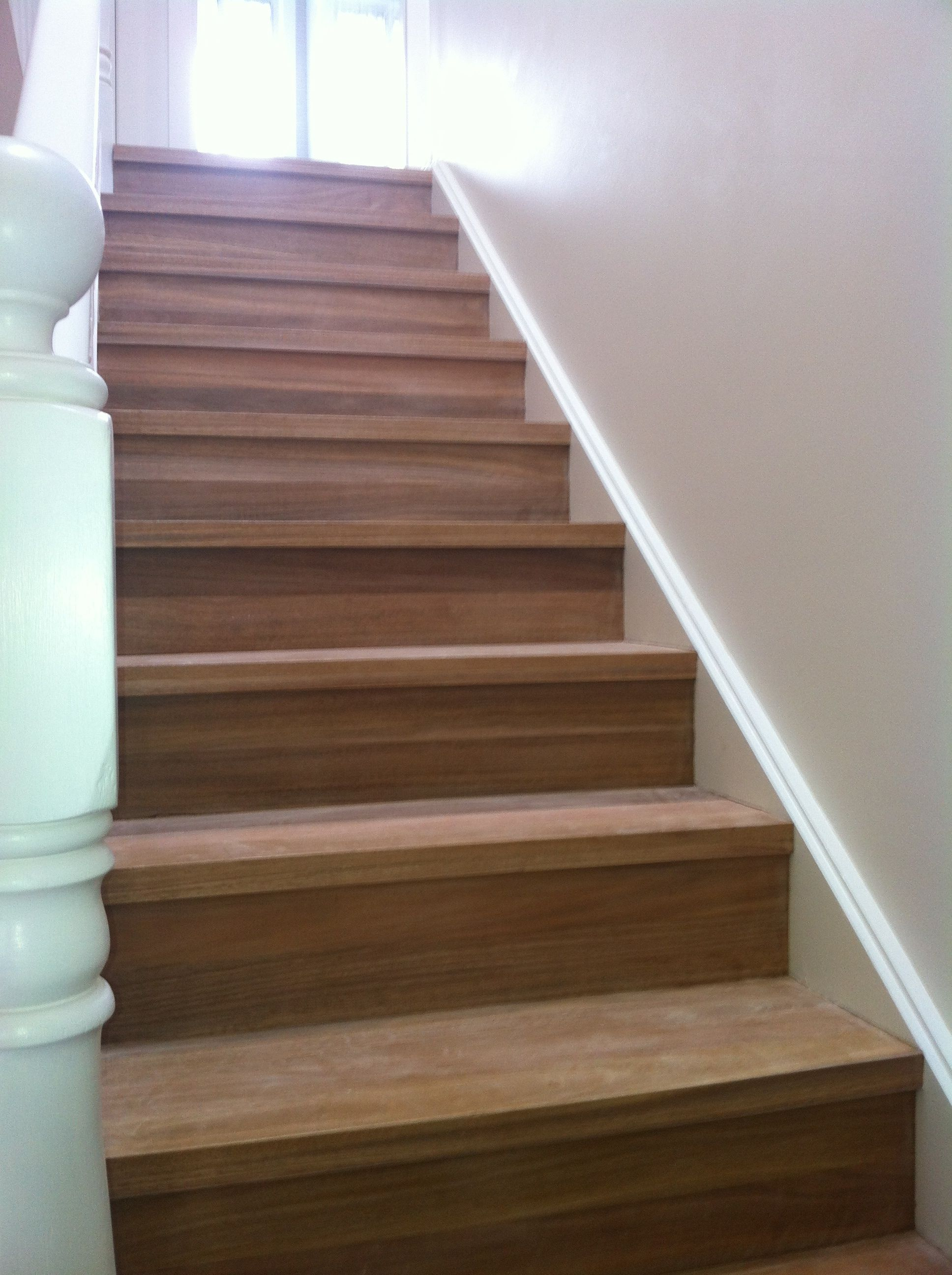 Best Spotted Gum Treads And Risers Pre Sanding And Polishing 400 x 300