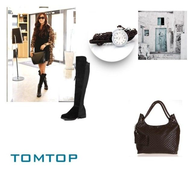 """TOMTOP+ 16"" by damira-dlxv ❤ liked on Polyvore"