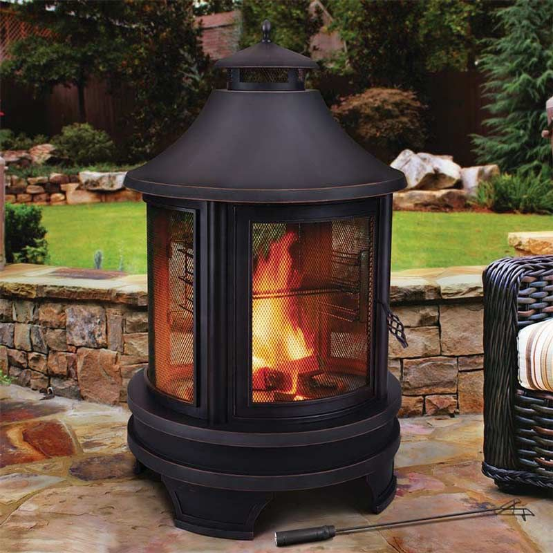 Outdoor cooking fire pit this links to costco uk site for Foyer exterieur costco